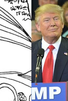 Orlando Sentinel cancels comic after readers pointed out it said 'Go fuck yourself, Trump'