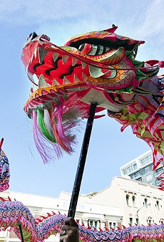 Central Florida Dragon Parade celebrates the Year of the Pig on the streets of Mills 50