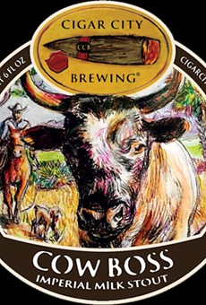 Cigar City Brewing teams up with Florida Cattlemen's Association to launch Cow Boss milk stout