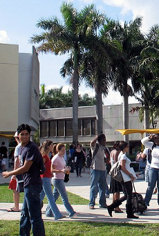 Authorities are searching for a 'serial butt grabber' at Florida International University