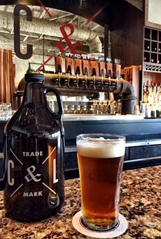 Cask & Larder in Winter Park charges $12 for the branded growler shown here — plus $15 for the Citra-Hopped IPA within.