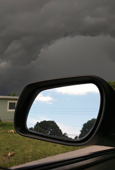 This photo perfectly sums up summer in Florida