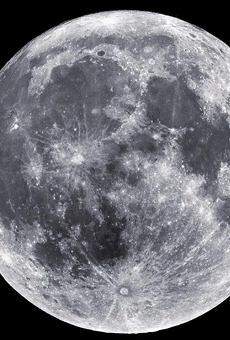 A 'Super Snow Moon' will take over Orlando's sky tomorrow night