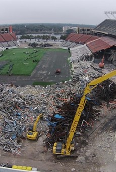 Time-lapse video shows the yearlong renovation of the Citrus Bowl in one minute, 17 seconds