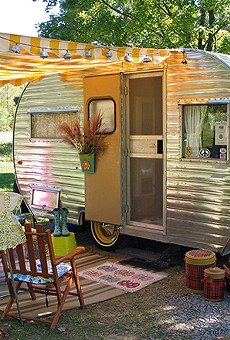 Wander through a forest of mobile kitsch at Renninger's Vintage RV and Antique Show this weekend