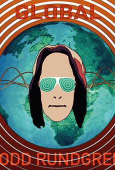 Go see the light during Todd Rundgren's spectacle at the Plaza Live