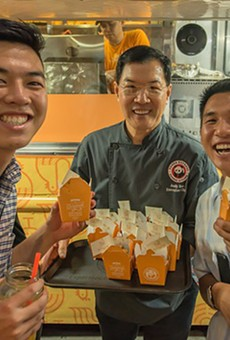 A Panda Express food truck will be handing out free orange chicken this Thursday