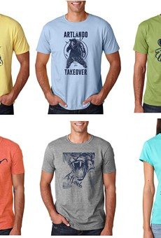 Why have just one Artlando T-shirt when you could have 36 different ones?