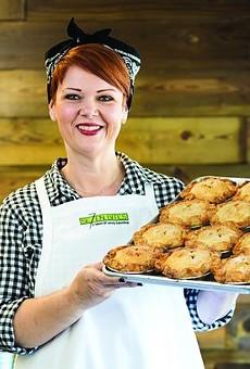 Trina Gregory-Propst, chef-owner of Se7en Bites Bakery