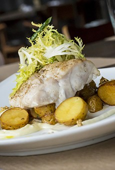 Chef Dominic Rice fires up safe, seasonal fare in a handsome room at Dr. Phillips' Slate