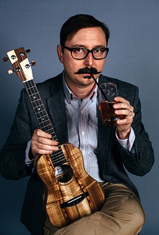 John Hodgman thinks Florida's gotten a bad rap in the news lately, but he's looking forward to his return