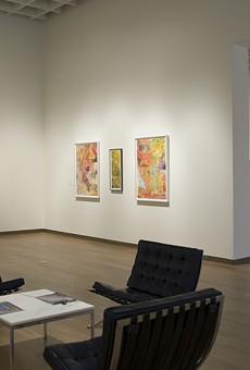 Now at OMA, 35 paintings by Harold Garde bridge his 70-year career