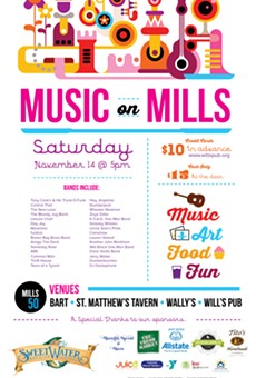 Thirty music acts take over Mills Avenue for the annual Music on Mills party Saturday