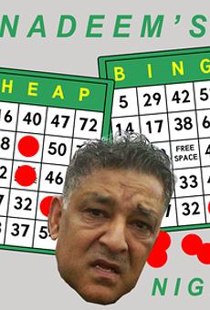 Nadeem's Cheap Bingo Night