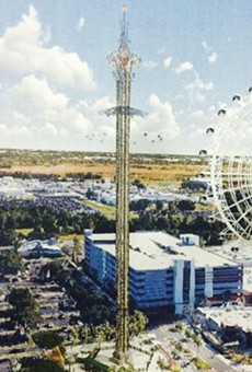 Another massive tower ride is about to swing into I-Drive