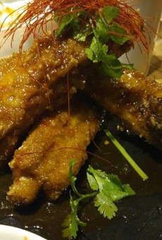 Sticky ribs at Morimoto Asia were the best thing we ate last weekend