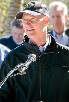 Gov. Rick Scott urges job creation, tax cuts on first day of Florida Legislature's session