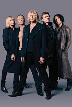 Def Leppard tour in support of their newest album, which the band says is their best effort yet