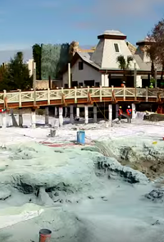 Disney is literally putting the 'springs' in Disney Springs with new 'natural' water feature