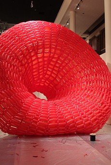 Art31 2016: Giant balloon sculptures, urban geodes and floating beeswax plague cells