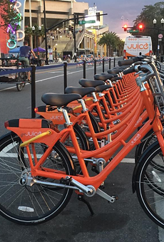 Juice bike share squeezed out of Orlando