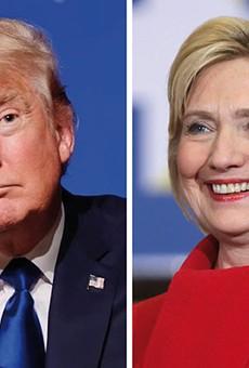 Hillary Clinton, Donald Trump win Florida primary