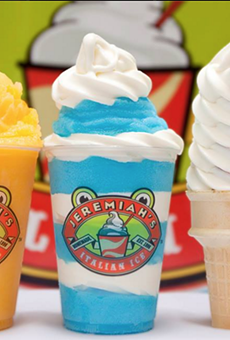 Get half-off Italian ice and gelati at the new Jeremiah's on Orange Avenue tomorrow