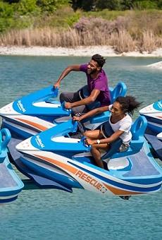 Wave Breaker: The Rescue Coaster at SeaWorld San Antonio
