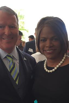 Buddy Dyer endorses former OPD Chief Val Demings in congressional race