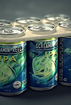 Saltwater Brewery is partnering with advertising agency We Believers to create an edible and biodegradable 6-pack packaging.