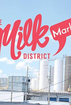 Unique shopping, food and music can be found at the Milk District Market