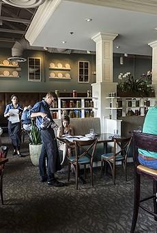 Cask & Larder main dining room