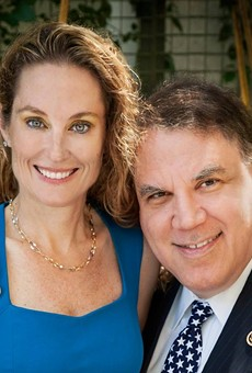 Alan Grayson marries Dena Minning, who's running to replace him in Congress