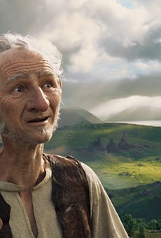 For a movie about giants and the expansive power of dreams, The BFG feels rather small