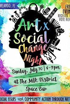 In the wake of tragedy, Art X Social Change Night at Spacebar looks forward