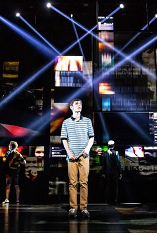 Ben Levi Ross as Evan Hansen in the first North American tour of Dear Evan Hansen.