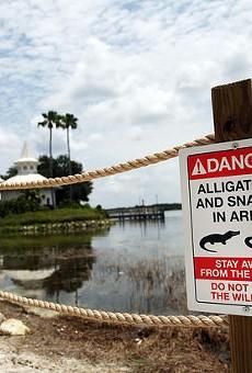 Firefighters at Walt Disney World resort warned to stop feeding alligators