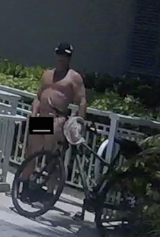 An extremely tanned flasher is terrorizing Vero Beach right now