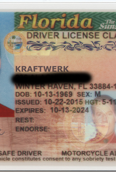 Winter Haven man officially changes his name to Kraftwerk