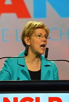 Elizabeth Warren: 'We will never build Donald Trump's stupid wall'