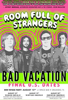 Local rockers Room Full of Strangers to kick off tour tonight at Spacebar