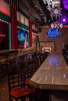 Frosty's Christmastime Lounge officially opens tonight in downtown Orlando