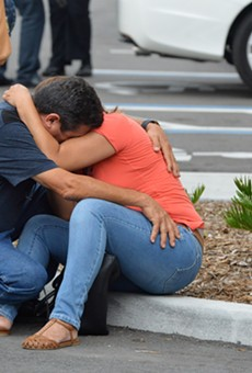 Family members of the victims of mass shooting at Orlando's Pulse nightclub hear news about their loved ones.