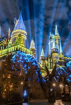 Hogwarts Castle will celebrate 'The Magic of Christmas' again at Universal Orlando starting Nov. 16.