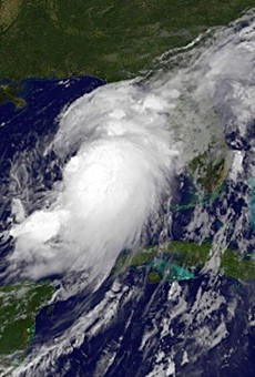 Tropical Storm Hermine is now officially a hurricane