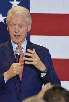 Bill Clinton is coming to Orlando this Wednesday