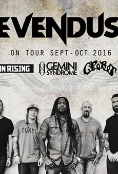 Just announced: Sevendust to play Orlando on New Year's Eve