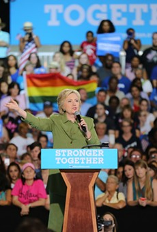 Hillary Clinton is coming to Orlando this Wednesday