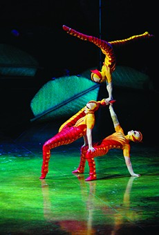 Cirque du Soleil's 'Ovo' combines signature acrobatics with the insect kingdom at Amway