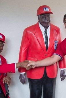 Winter Park statue of WWII Tuskegee Airman vandalized with '8-inch hole in the gut'
